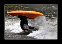 Kayak Rodeo on the Arkansas River
